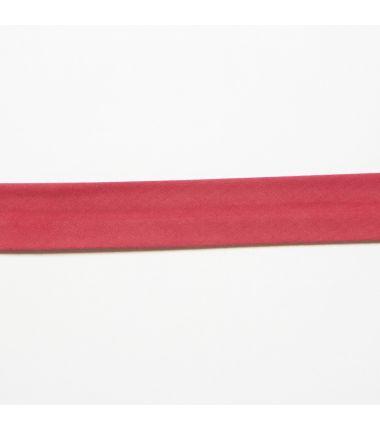 Biaisband Mix & Match effen rood