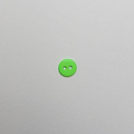 Bouton flou vert