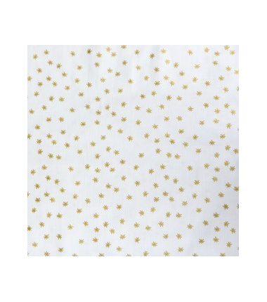 Blanc étoiles or