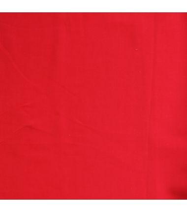 Viscose unie rouge baiser