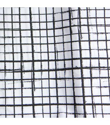 Gridlines noir et blanc
