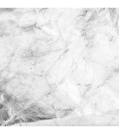 Papier lavable (effet cuir) argent