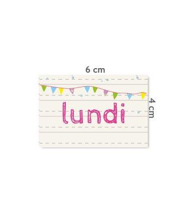 "Label ""Lundi"""