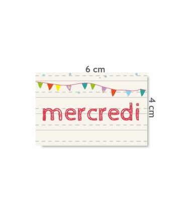 "Label ""mercredi"""