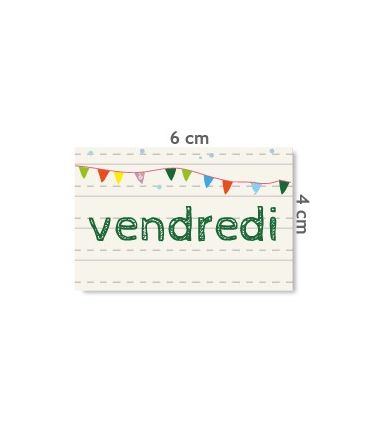 "Label ""vendredi"""