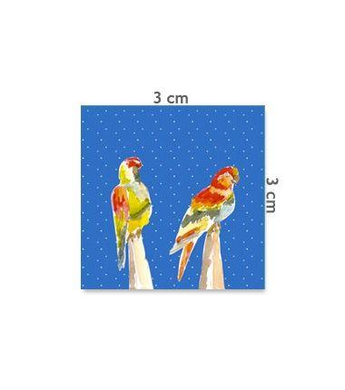 Etiquette perroquet
