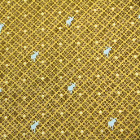 Mind the moose jaune
