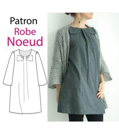 Patron Robe Noeud 40