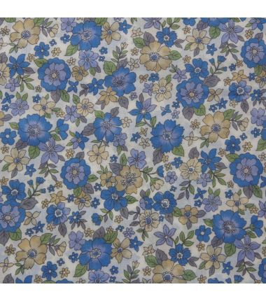 Frou-Frou fleuri bleu