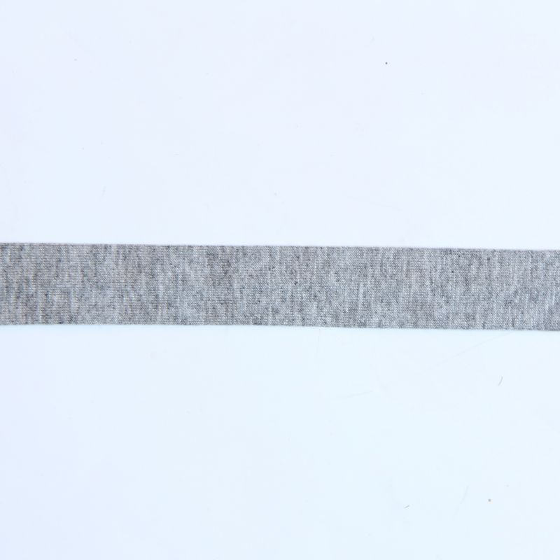 Biais jersey gris