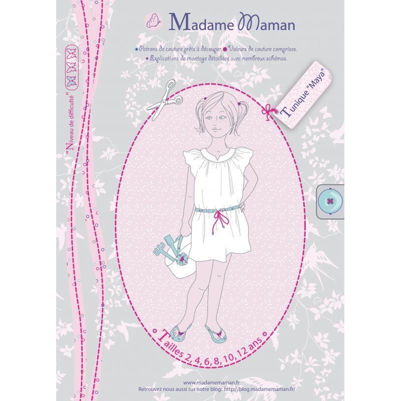 Patron Madame Maman - Tunique Maya