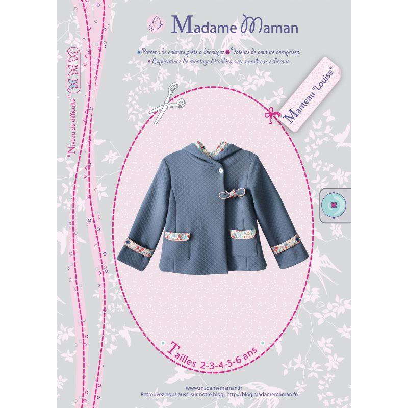 Patron Madame Maman - Manteau Louise- 2/6