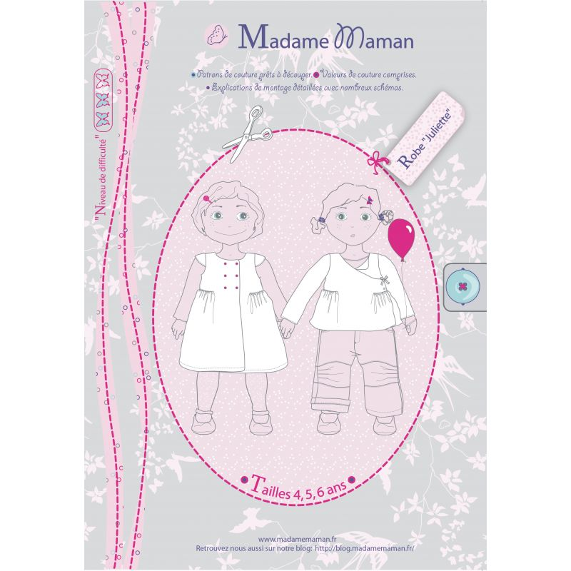 Patron Madame Maman - Robe Juliette 4/6