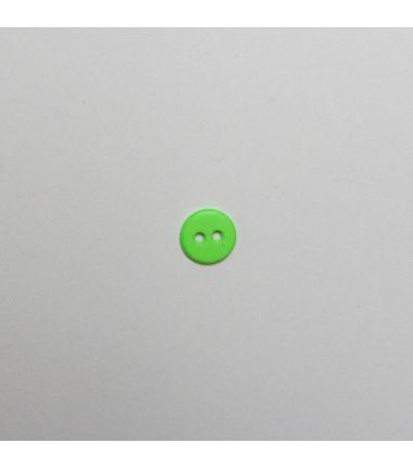 Knop fluo groen