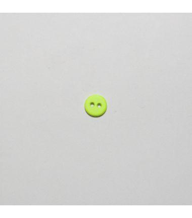 Knop fluo geel
