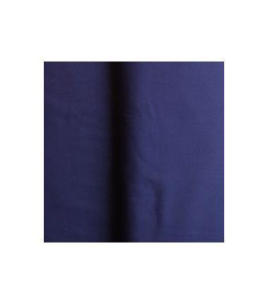 Toile de coton bleu dur