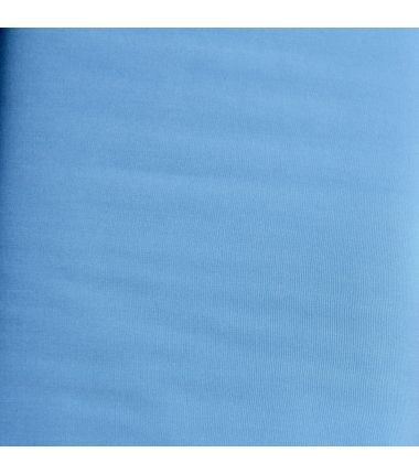 Viscose unie bleue ciel d'été