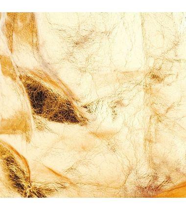 Papier lavable (effet cuir) or