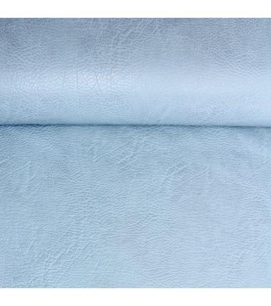 Simili cuir vintage bleu ciel