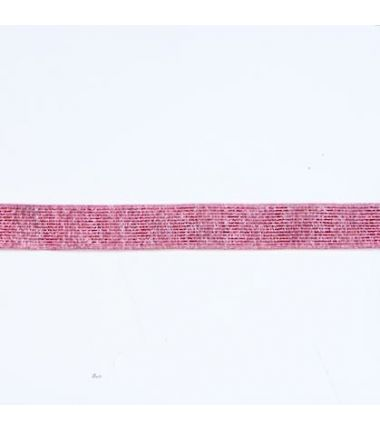 Elastique lurex fuchsia