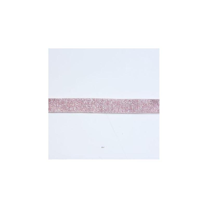 Elastique lurex rose