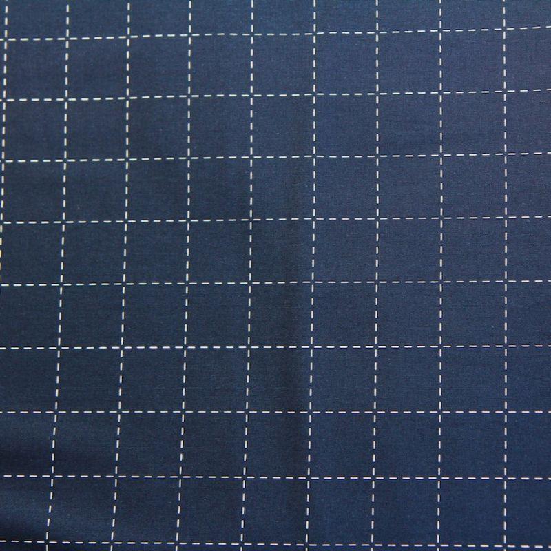 Rico toile bleue japonaise carré