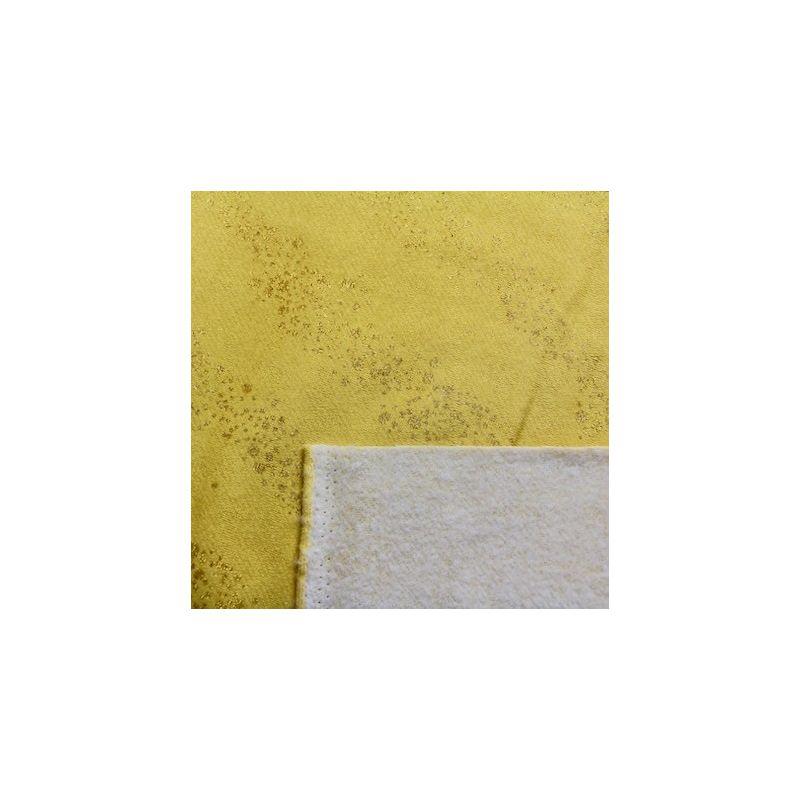 Rico Design Sweat moutarde nuage de paillettes