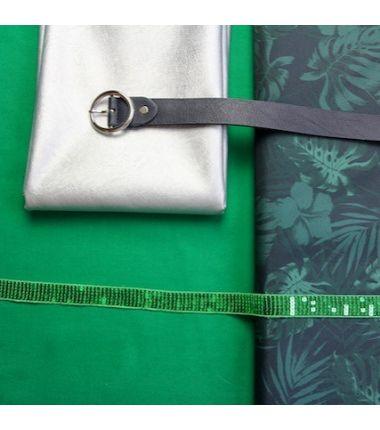 Kit sac cabas vert jungle