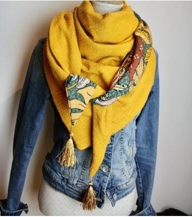 Le foulard cousu Mali
