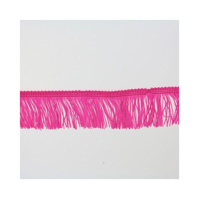 Franges rose fluo