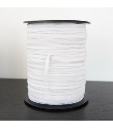 Elastique blanc 7mm