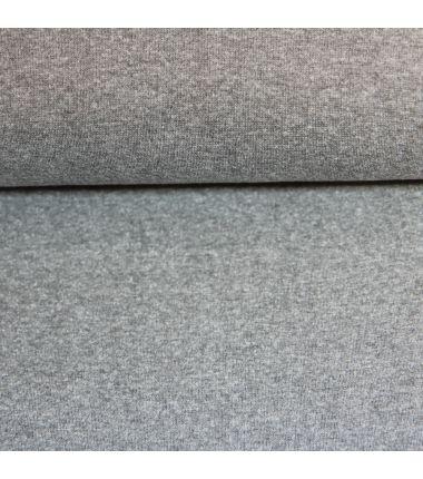 Bord-côtes gris chiné