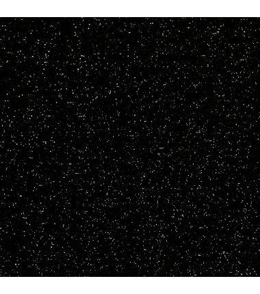 Bord-côtes noir paillettes
