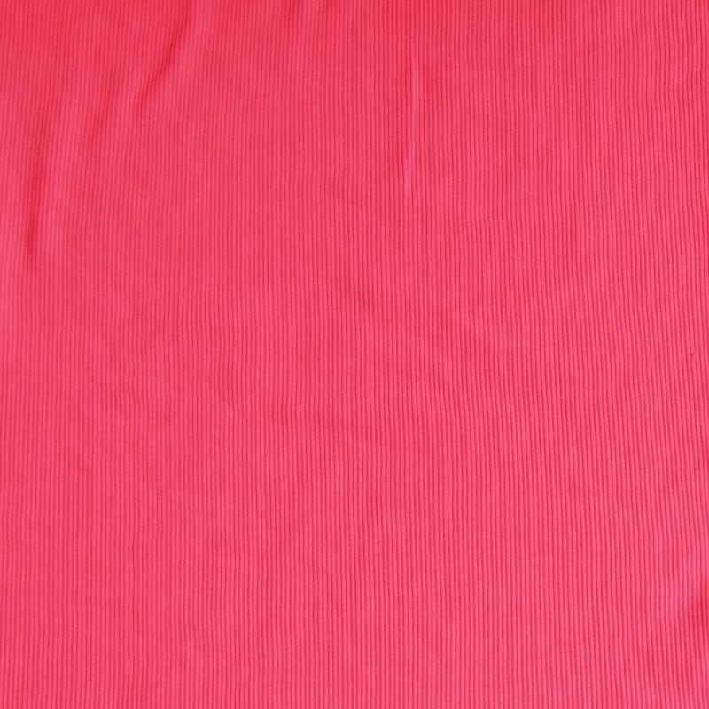 Bord-côtes rose fluo