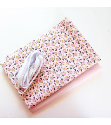 Kit 6 masques plis rose...