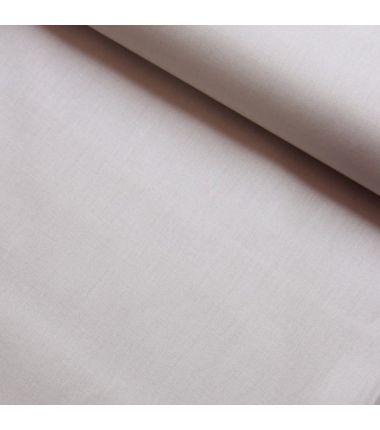 Coton uni beige
