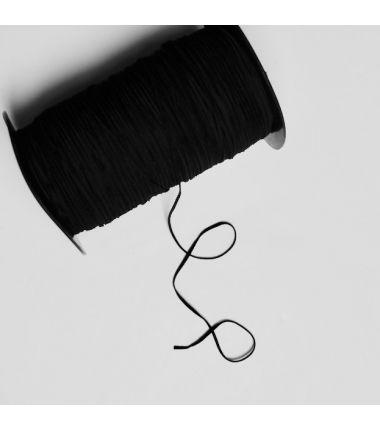 Elastique 3mm noir