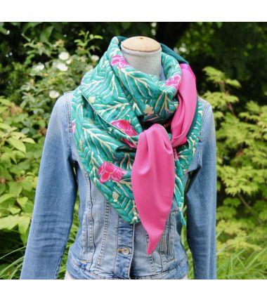 Kit foulard triangle magnolia