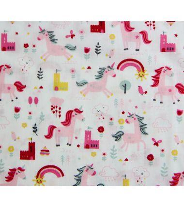 Coton petites licornes