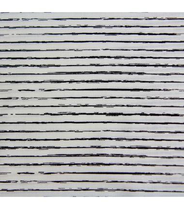 Coton traits blanc