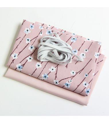 Kit 6 masques à plis fleurs...