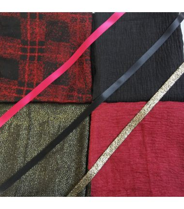 Kit grand foulard carré 8