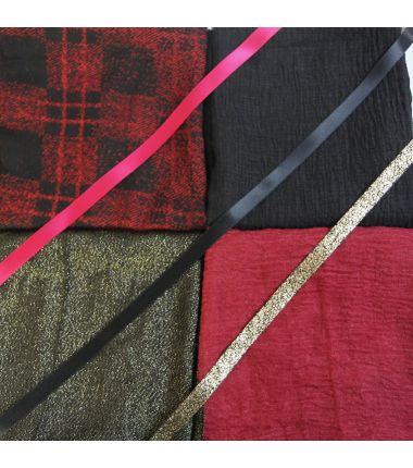 Kit grote vierkante sjaal 8