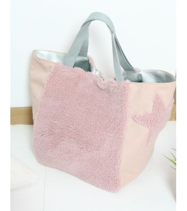 Kit sac pilou rose