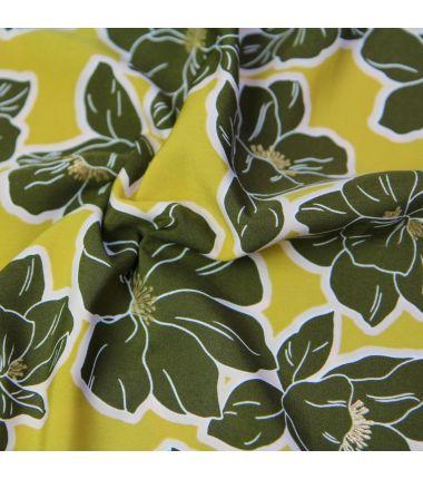 Flora olive kaki or
