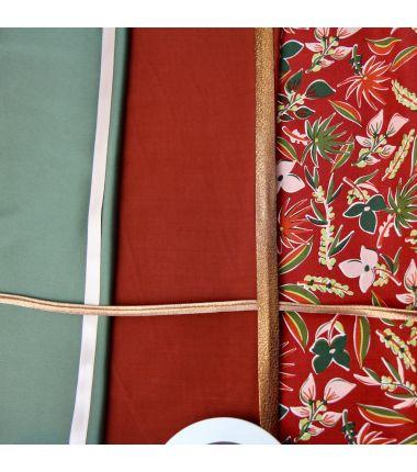 Kit foulard triangle Bota...