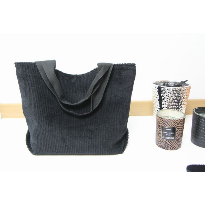 Kit sac velours noir