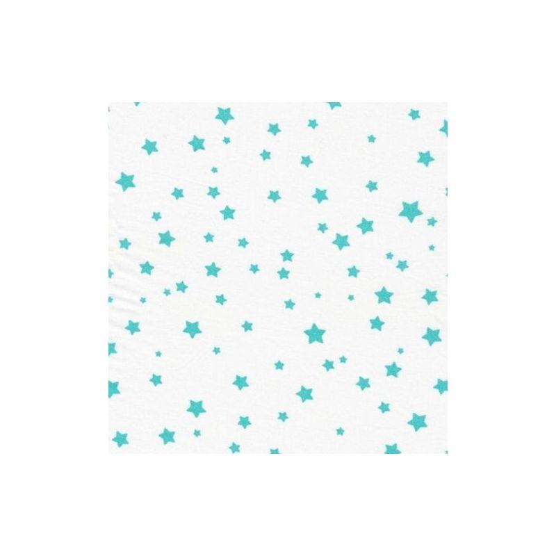 Poussière d'étoiles glacier sur blanc