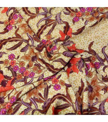 Viscose Hibiscus