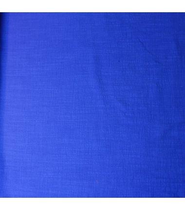 Coton léger bleu roi